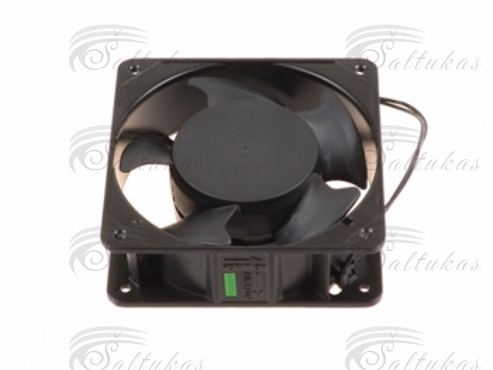 220-240 V, 120 x 120 x 38 mm, 50/60 Hz, 2650-3150 rpm